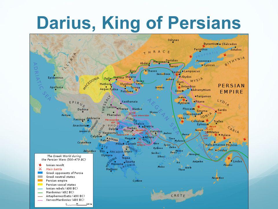 Darius, King of Persians