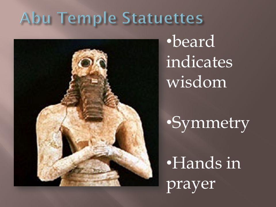 beard indicates wisdom Symmetry Hands in prayer