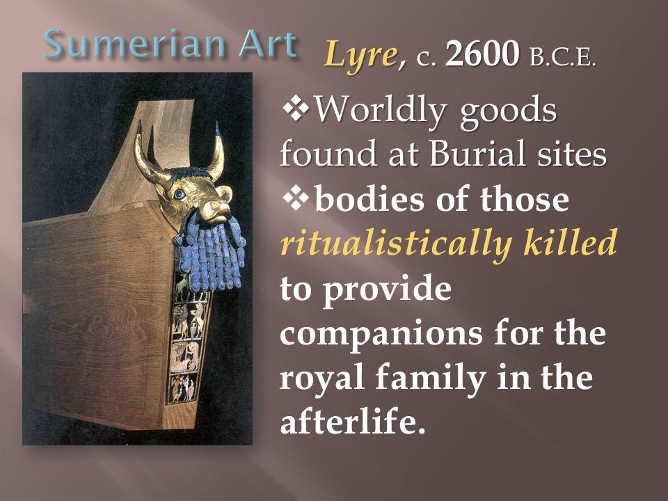 Lyre, c. 2600 B.C.E.