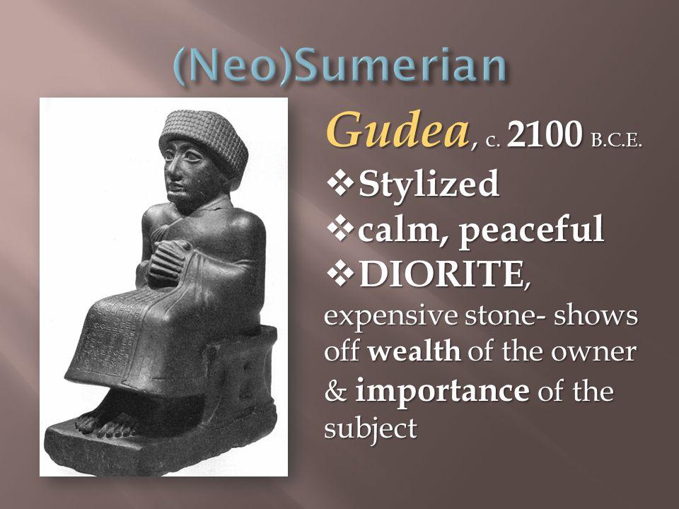 Gudea, c. 2100 B.C.E.