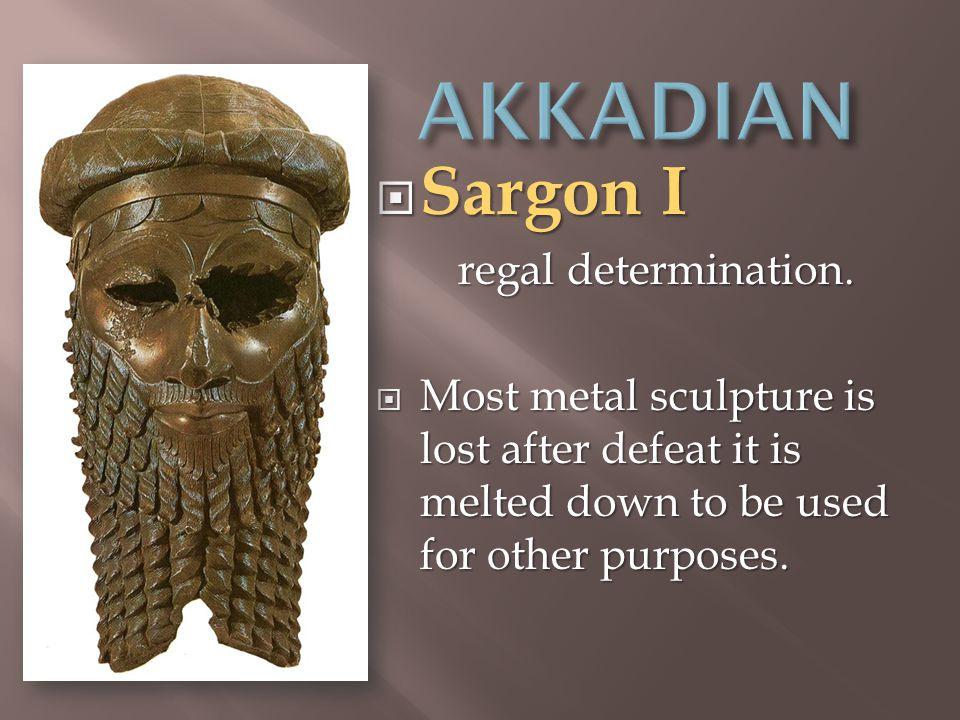  Sargon I regal determination.