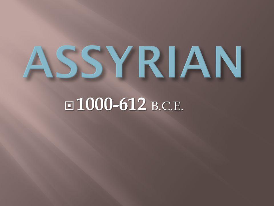  1000-612 B.C.E.