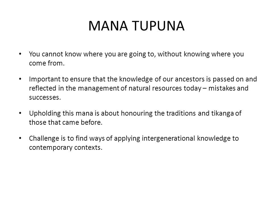 WAAHI TAPU, WAAHI TAONGA Waahi tapu  place under tapu (restriction, sanctity) Waahi taonga  places treasured for their assocaiation and fundamental significance to: – Natural heritage (e.g.