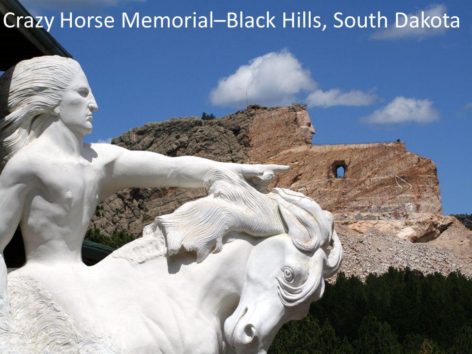 Crazy Horse Memorial–Black Hills, South Dakota