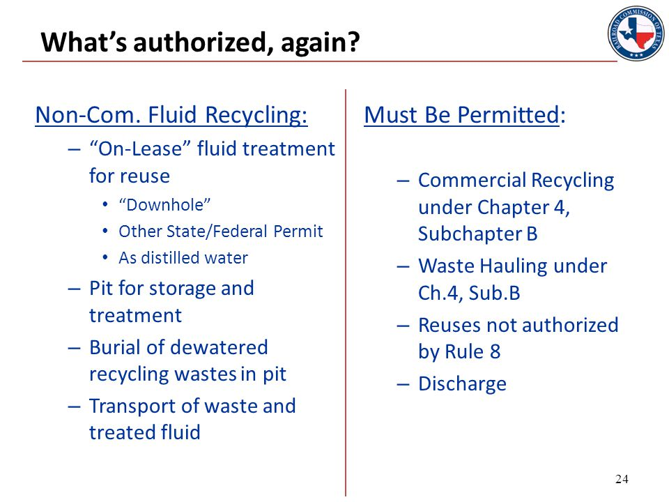 CHAPTER 4, SUBCHAPTER B Commercial Recycling Rules 25