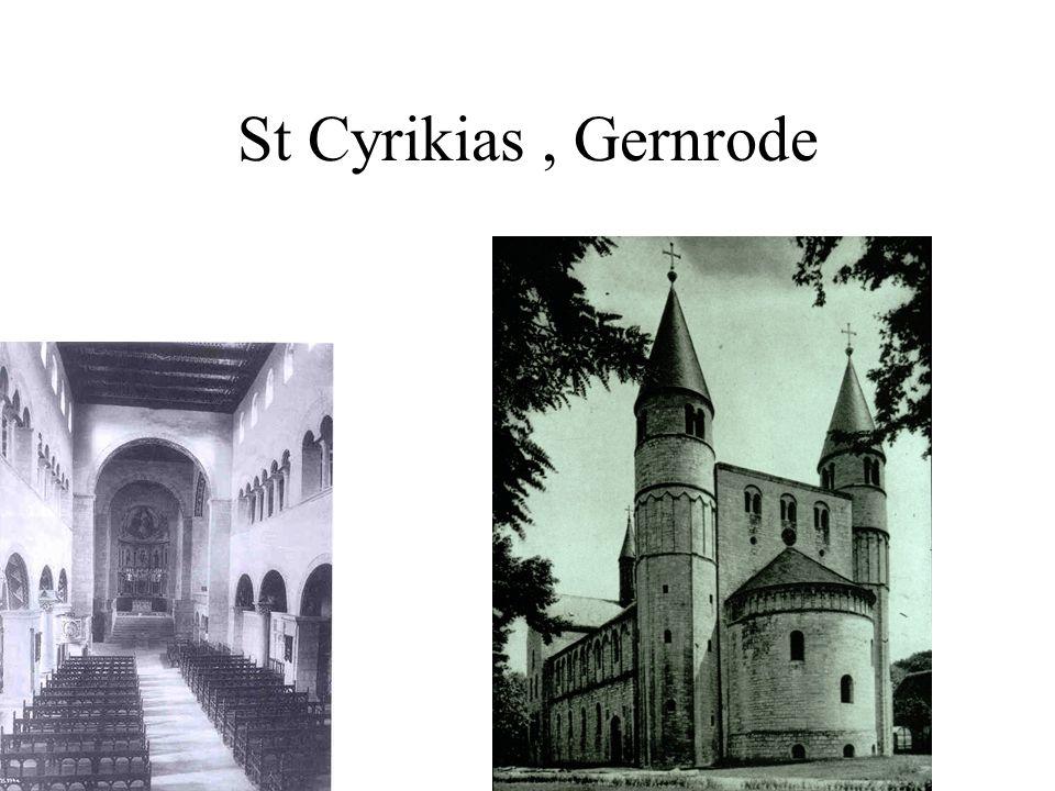 St Cyrikias, Gernrode