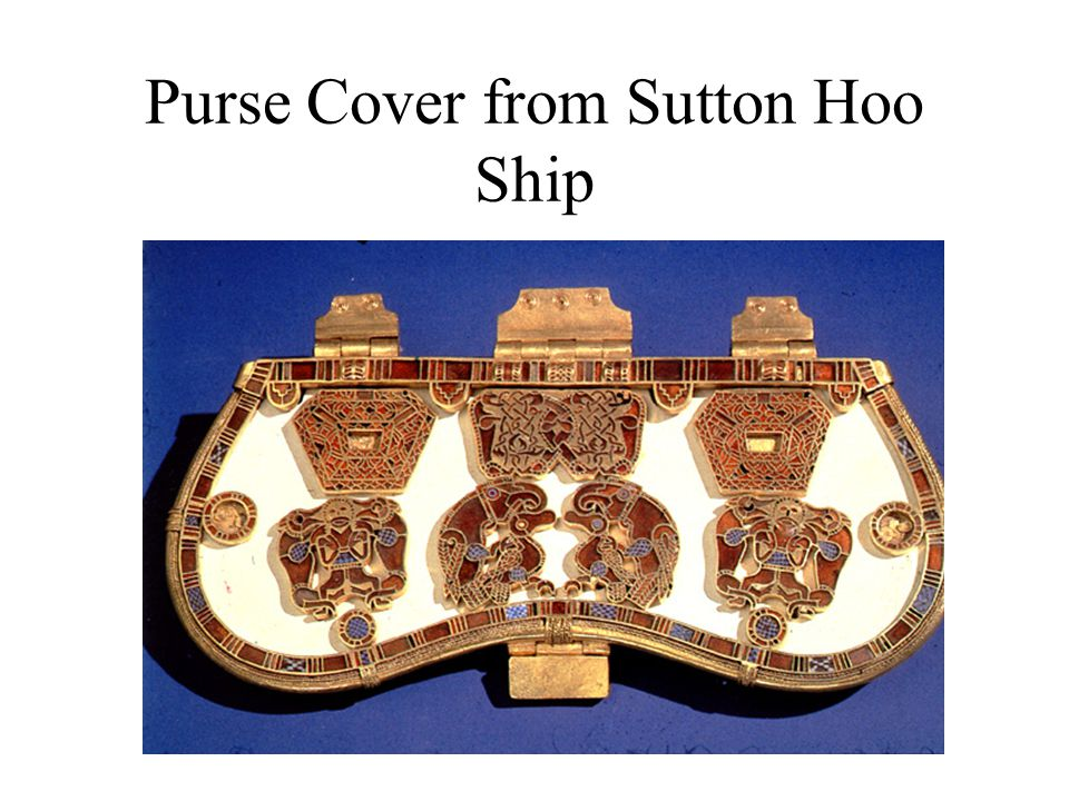 Purse Cover from Sutton Hoo Ship