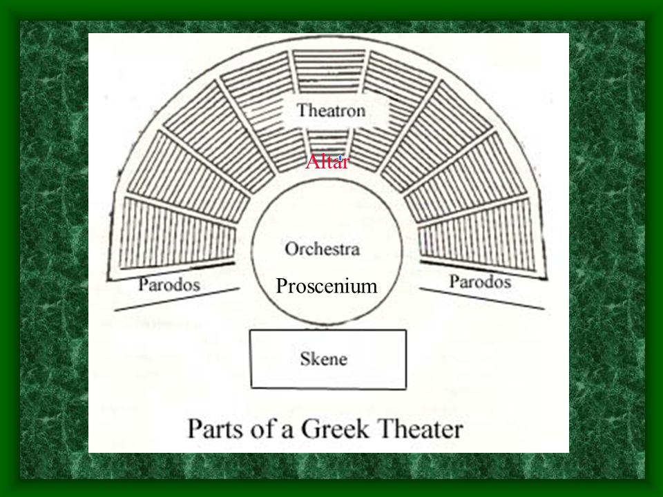 Proscenium Altar