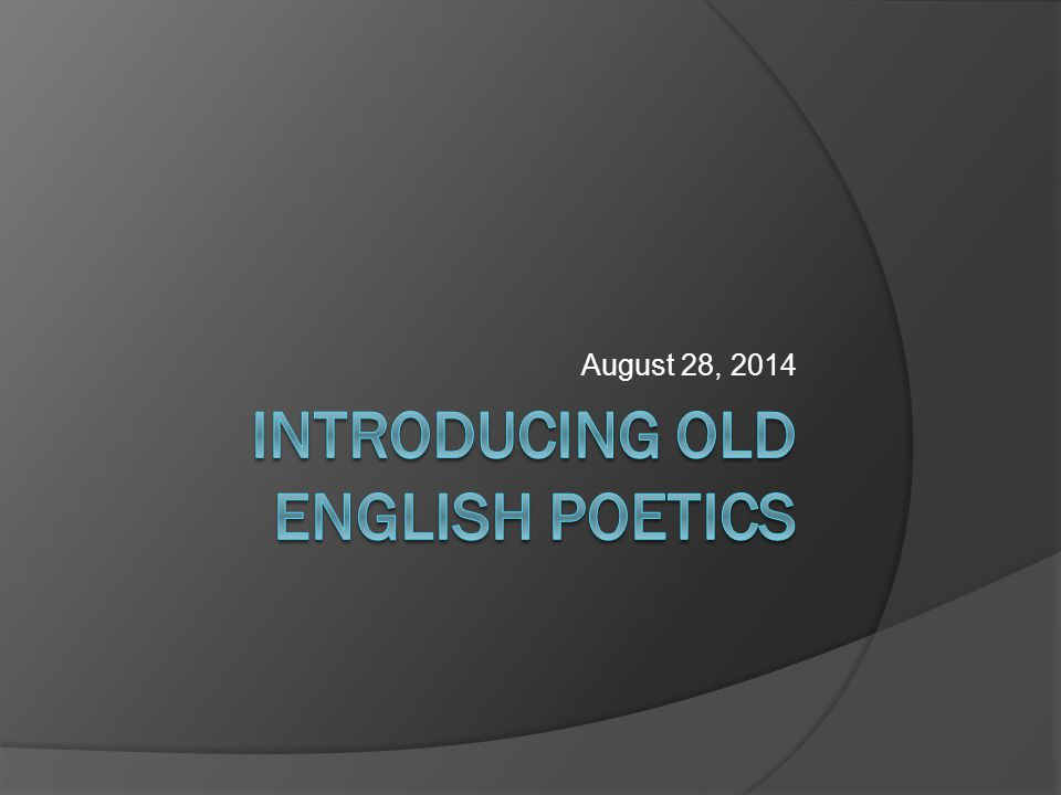 Part 2.Old English Translation  Swurd .  Brid .