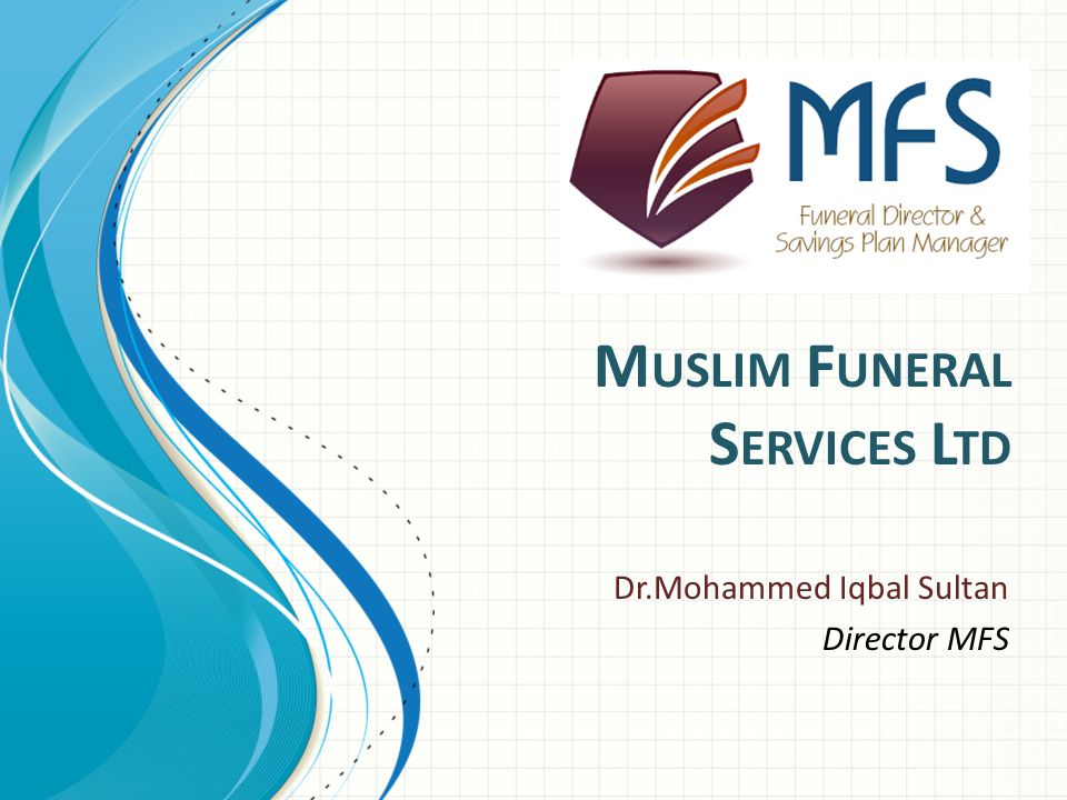 MFS Ltd est 2010 www.mfs.asn.au SMS Service: Free SMS for funerals taking place in Brisbane and the Gold Coast Database of nearly 700 To get onto our database – email to admin@mfs.asn.au online form SMS to 0412 845 786 Now also on twitter @janaza786 13
