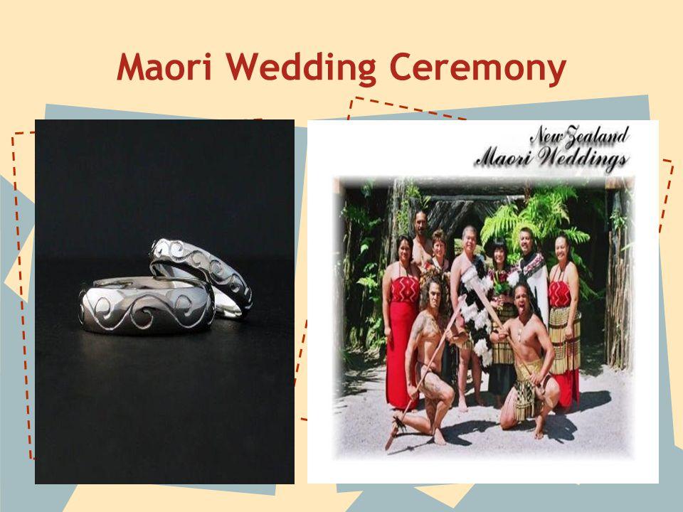 Maori Wedding Ceremony