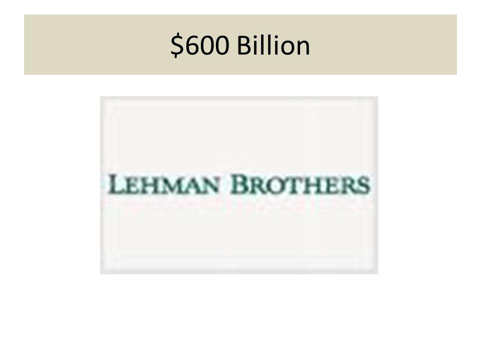 $600 Billion