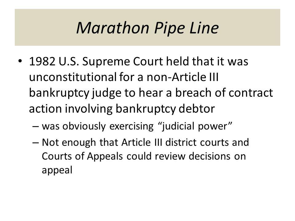 Marathon Pipe Line 1982 U.S.