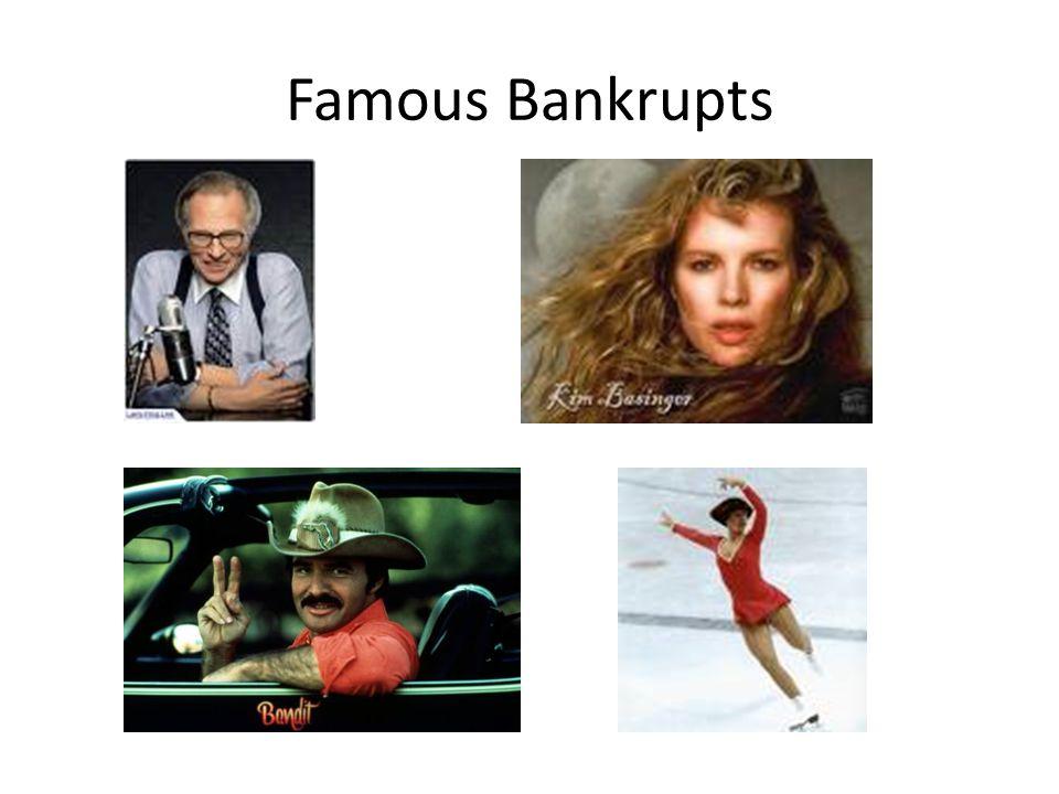 Famous Bankrupts