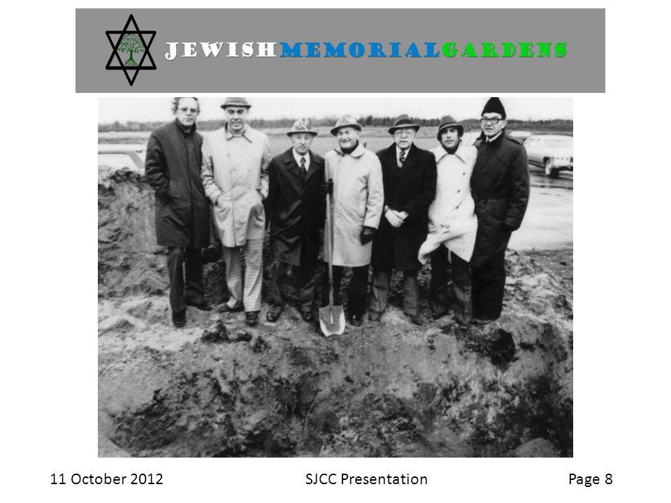 11 October 2012SJCC PresentationPage 8