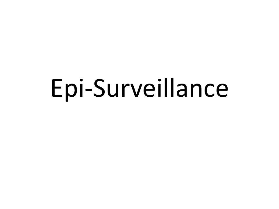 Epi-Surveillance