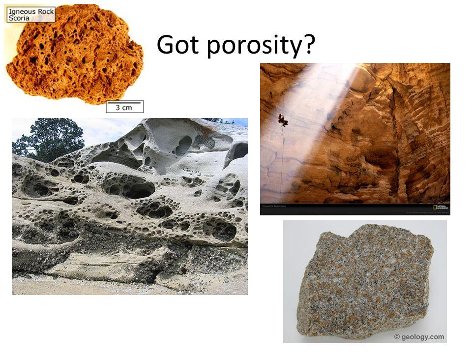 Got porosity?
