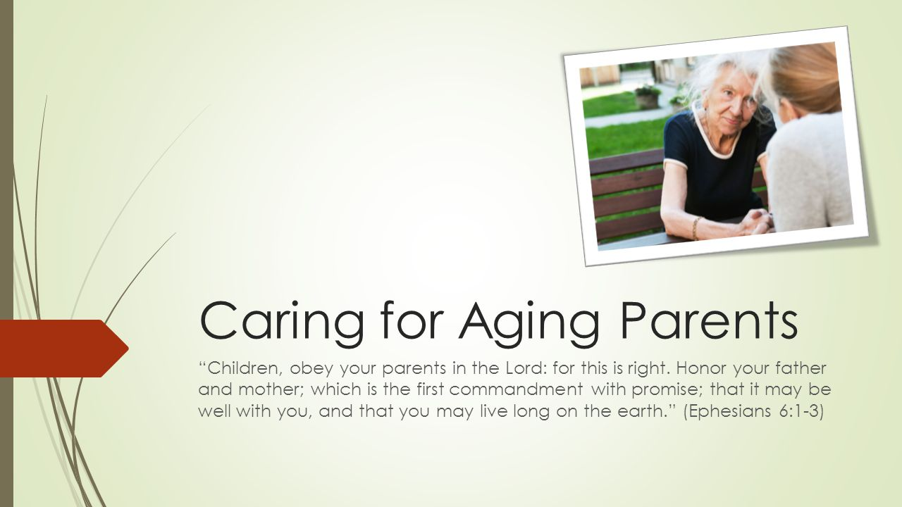 3 Stories from Steve  Getting old is a humbling experience  I will never be better than I am today  Milkshakes and regrets 2015-03-08 Caring for Aging Parents 22