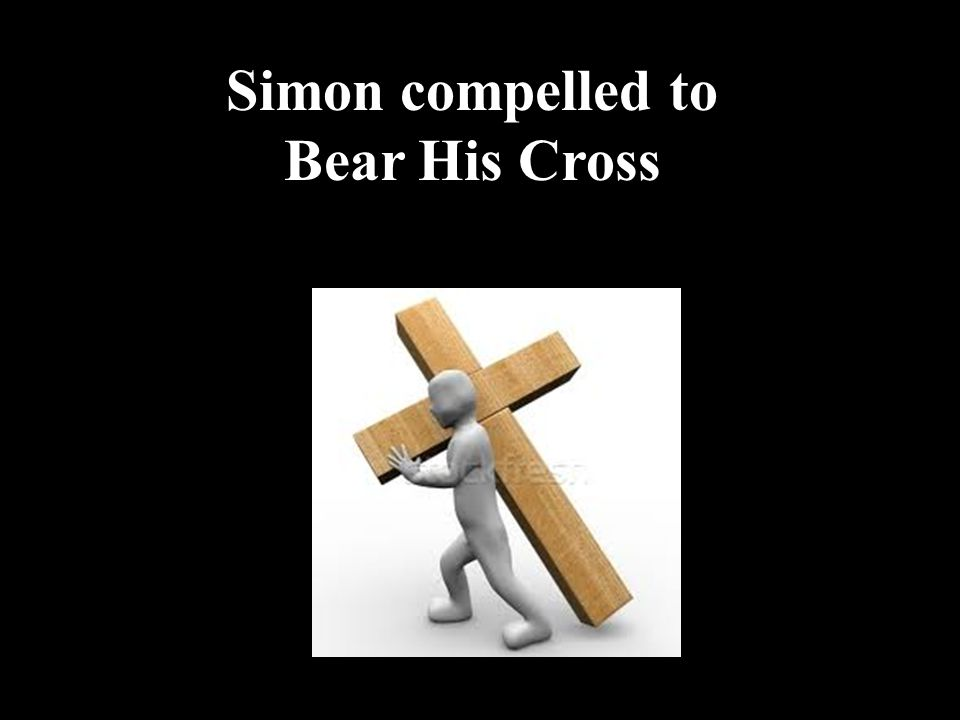 Simon compelled to Bear His Cross