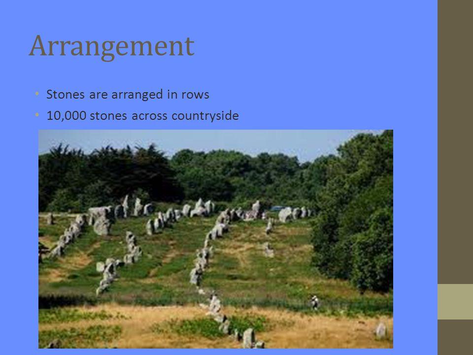 Ancient burial site? Could stones represent burial sites of ancestors?