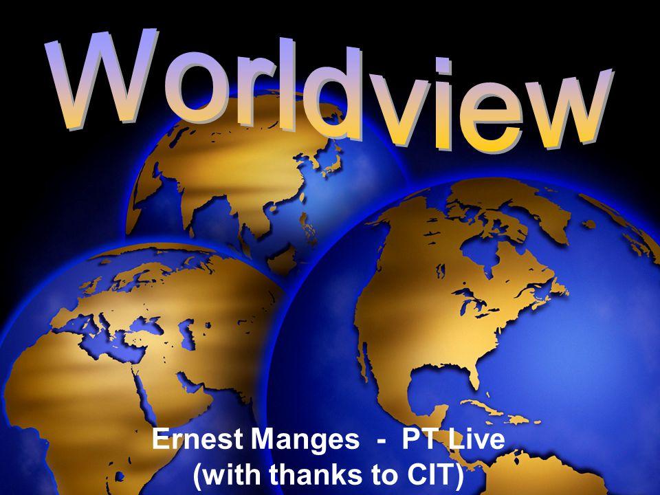 Ernest Manges - PT Live (with thanks to CIT)