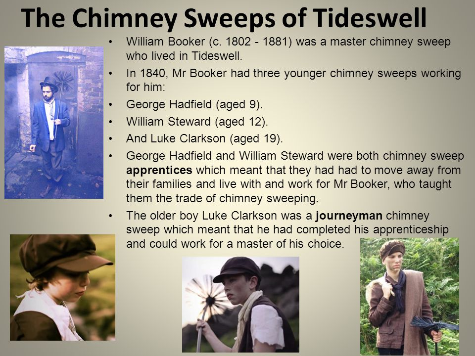 The Chimney Sweeps of Tideswell William Booker (c.