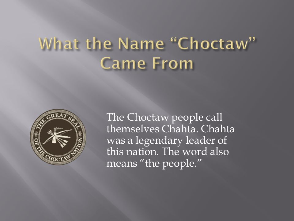 The Choctaw Indian tribe of the Southeast lived in chickee huts.