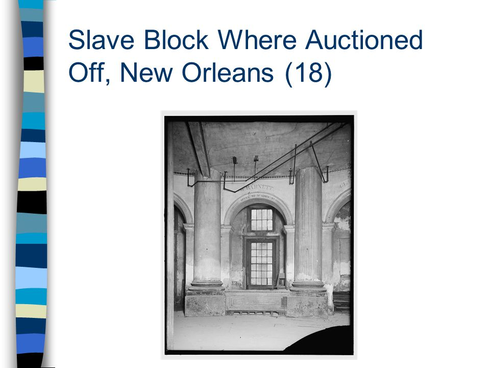 Slave Block Where Auctioned Off, New Orleans (18)