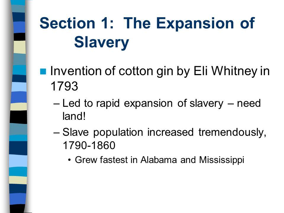 U.S. Slave Population, 1820 and 1860
