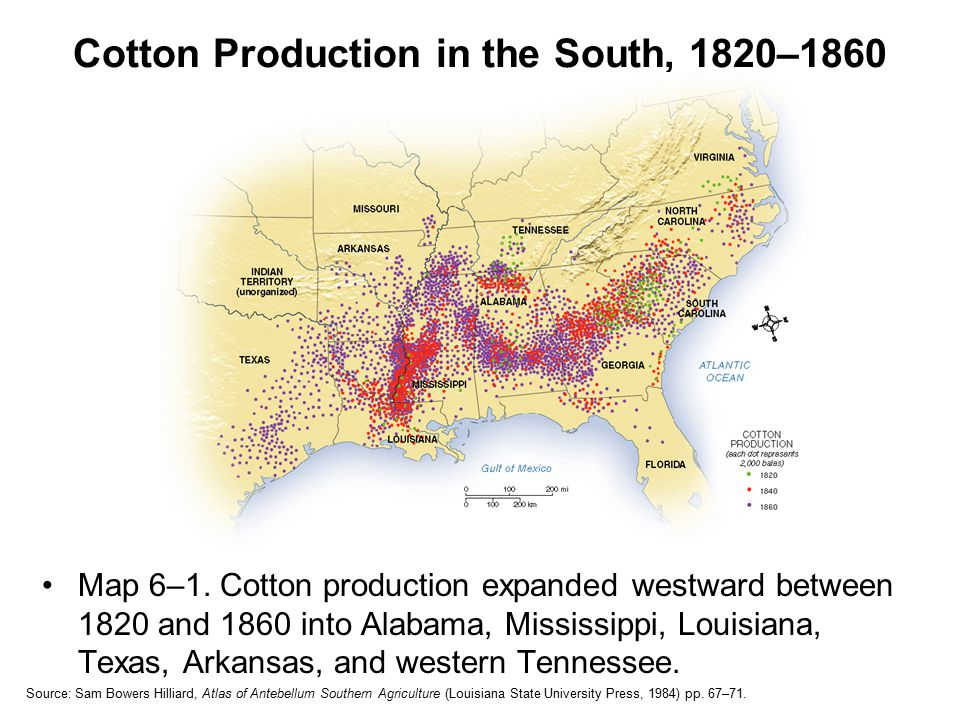 Ownership: Slaves in the Old South Slavery unevenly distributed – think about the statistics from yesterday.