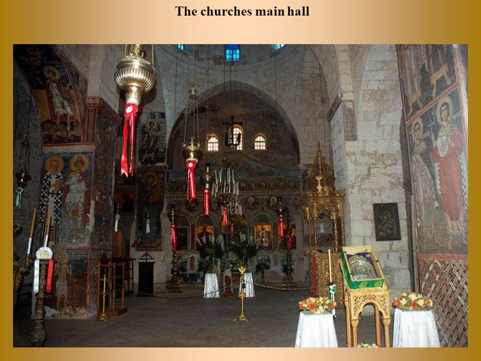 Moving to the area of modern western Jerusalem, are more beautiful churches.