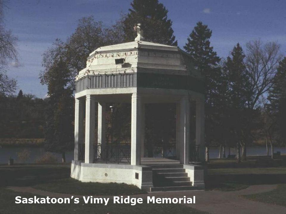 Saskatoon's Vimy Ridge Memorial