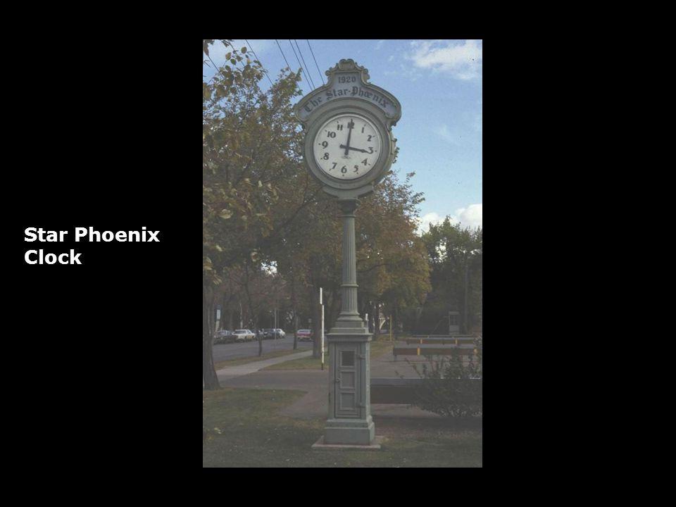 Star Phoenix Clock