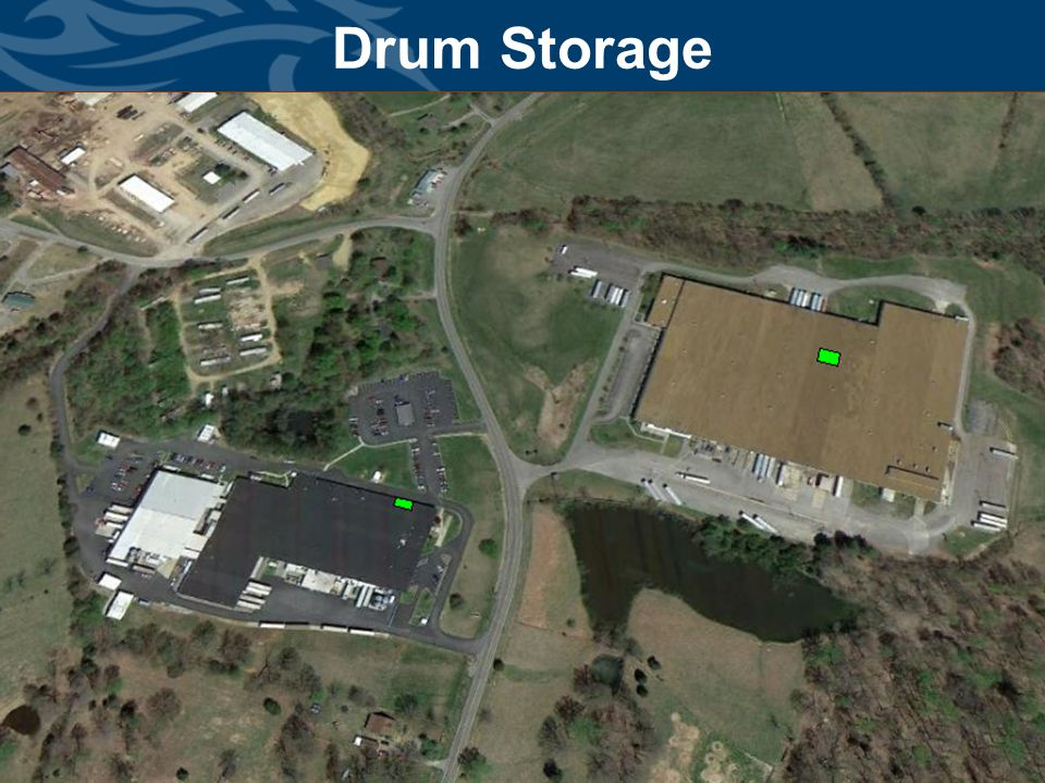Division of Waste Management Drum Storage