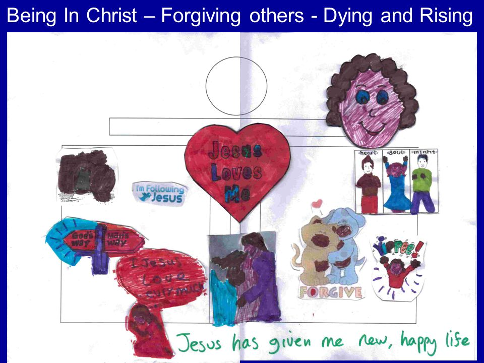 Being In Christ – Forgiving others - Dying and Rising