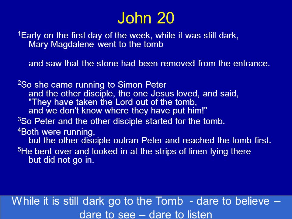 6 Then Simon Peter, who was behind him, arrived and went into the tomb.