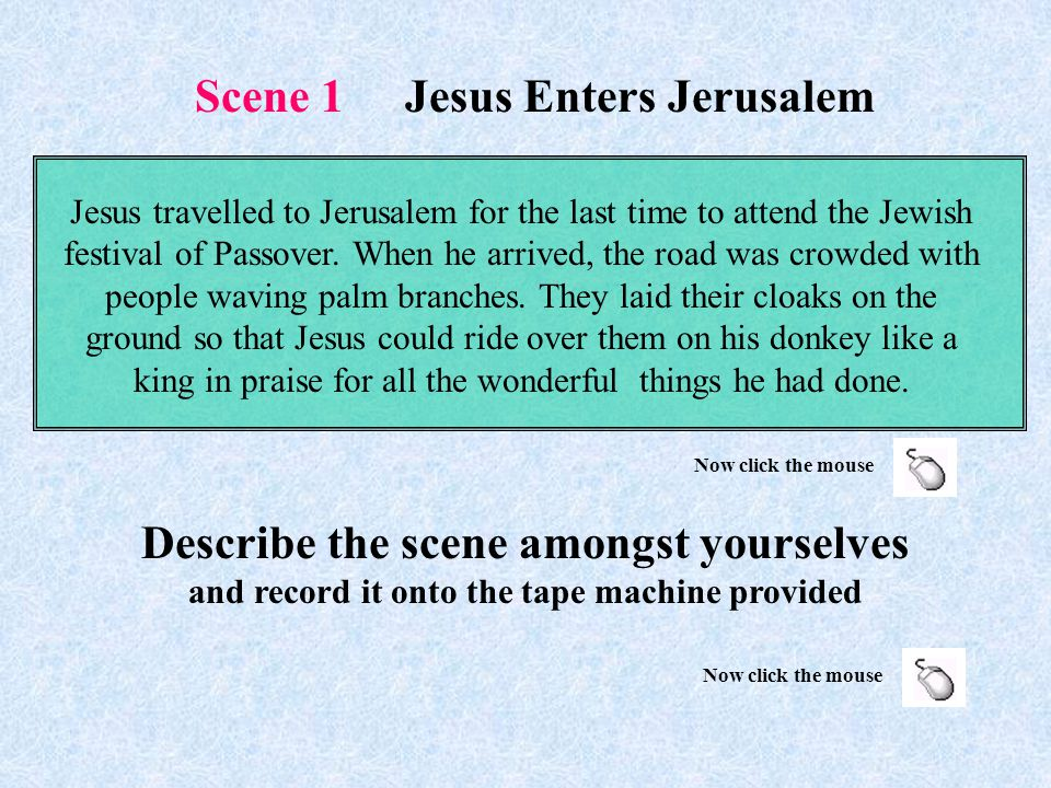 The Easter Story By Ed Fenner