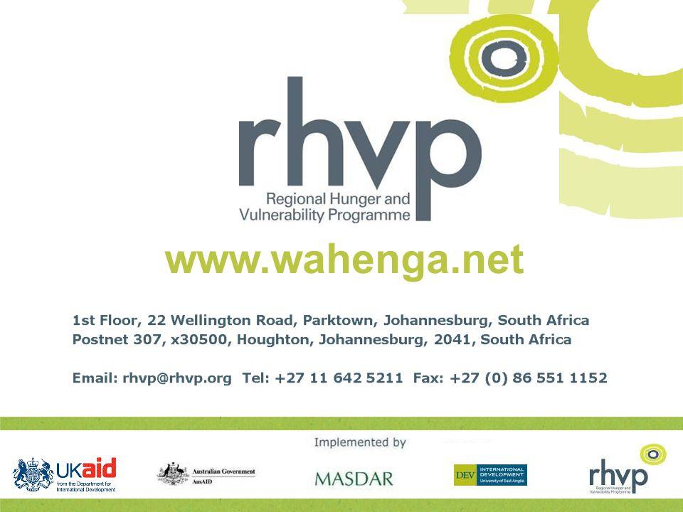 www.wahenga.net rhvp@rhvp.org