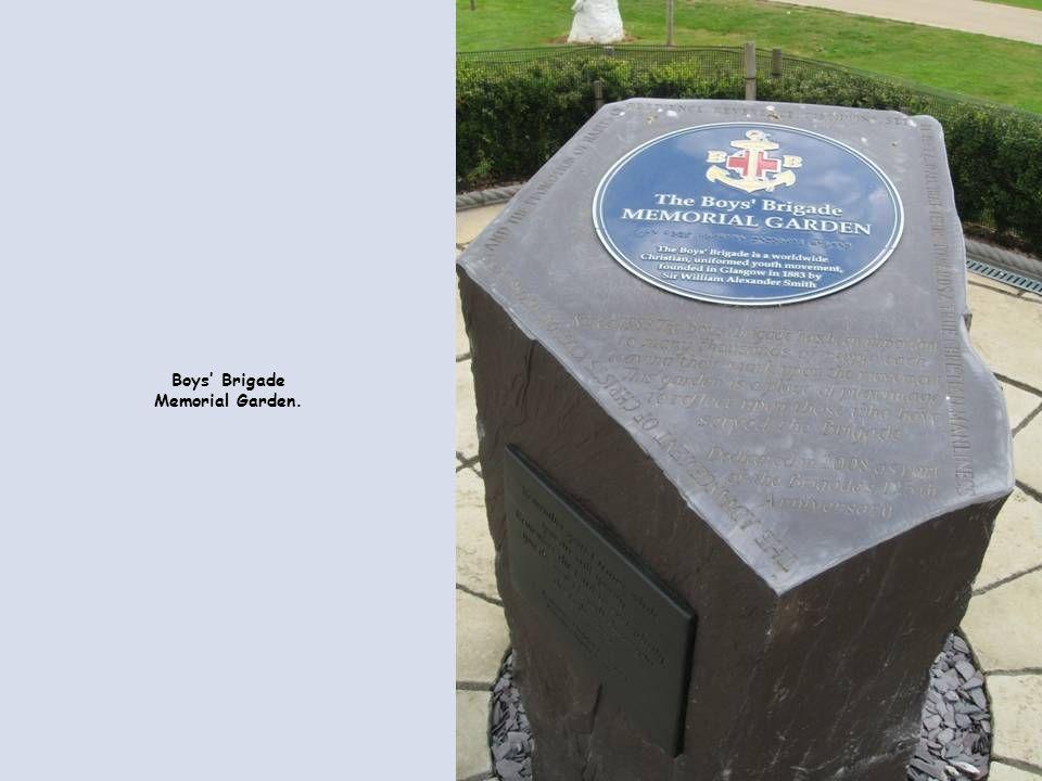 Boys' Brigade Memorial Garden.