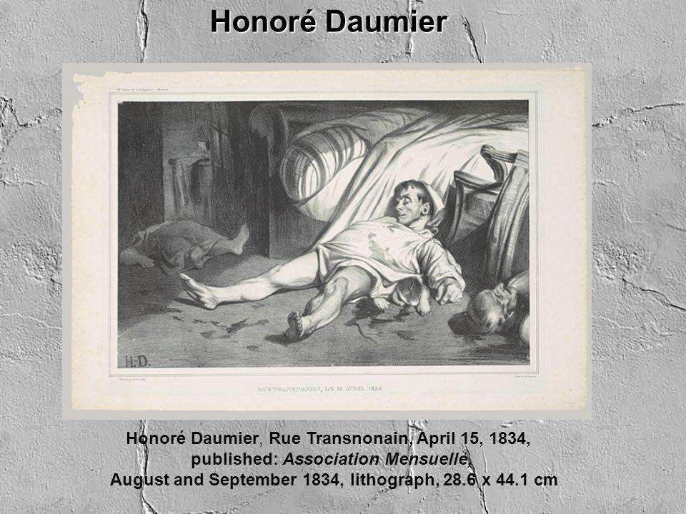 Honoré Daumier,The Legislative Belly, 1834, Lithograph, 34.8 x 51.3 cm פוליטיקאים Honoré Daumier