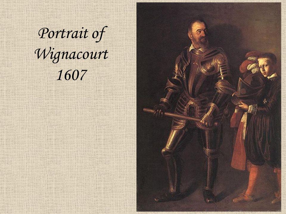 Portrait of Wignacourt 1607