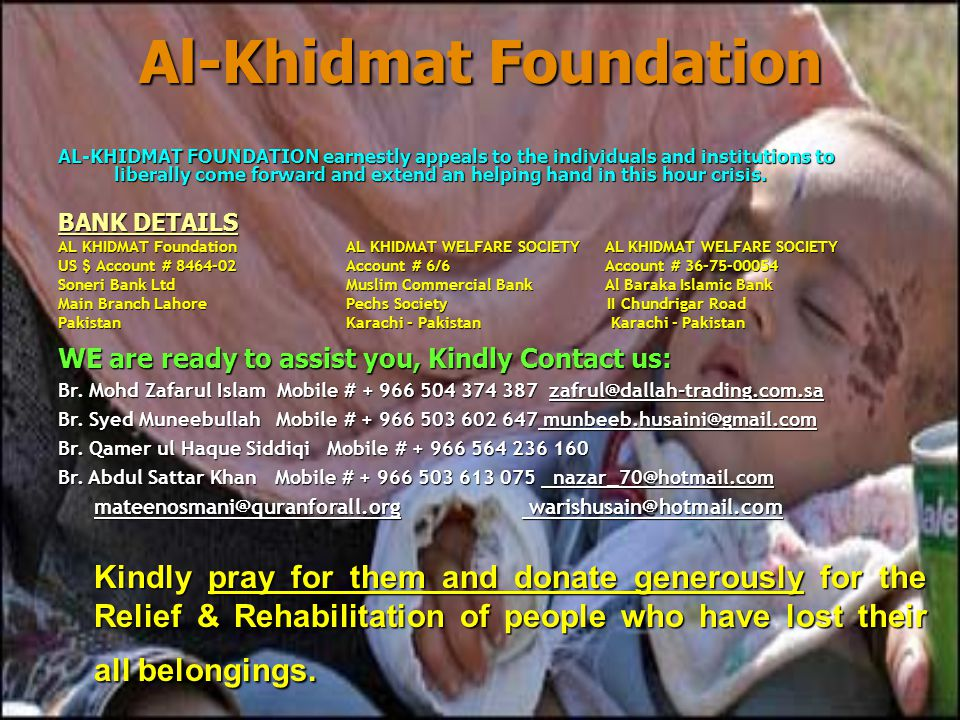 Al-Khidmat Foundation Al-Khidmat Foundation HOW TO ACHIEVE YOUR TARGET .