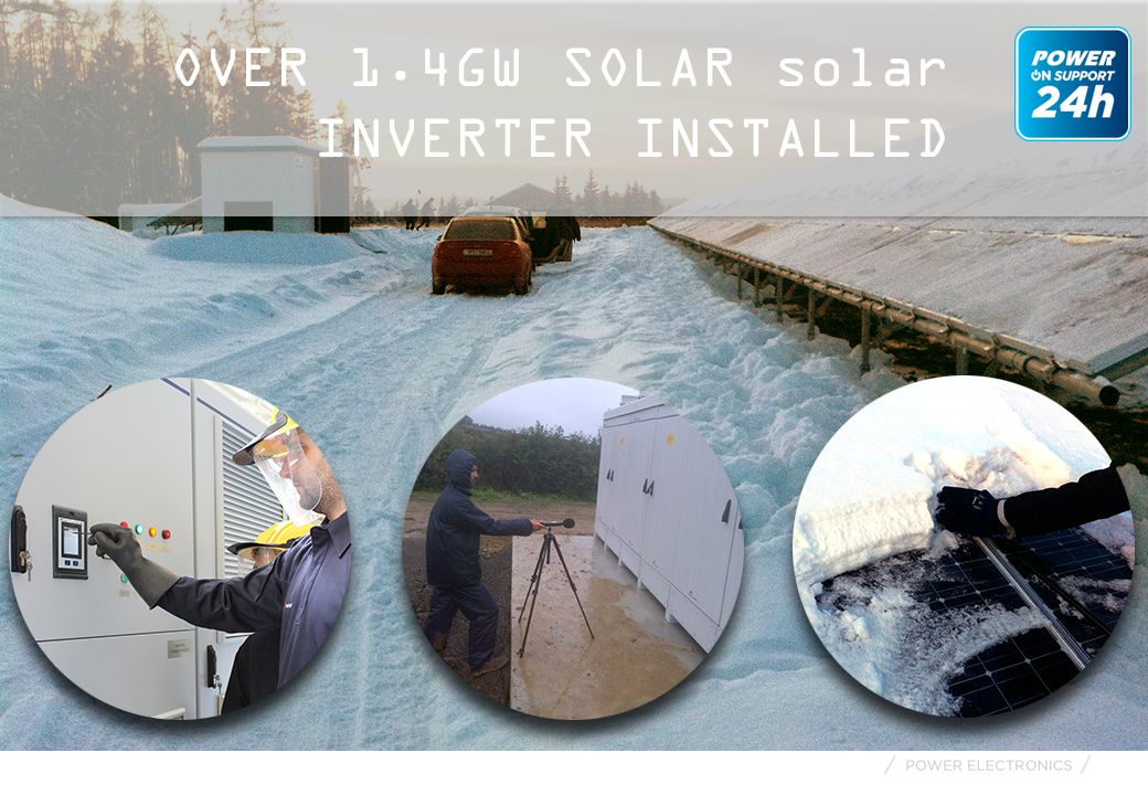 OVER 1.4GW SOLAR solar INVERTER INSTALLED