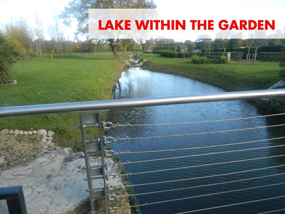 LAKE WITHIN THE GARDEN