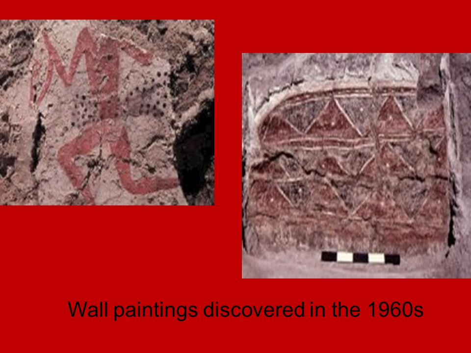 Copper armband found on one of the individuals excavated in the 4040 area..