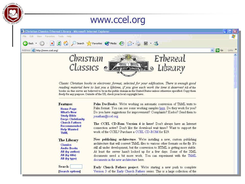 www.ccel.org