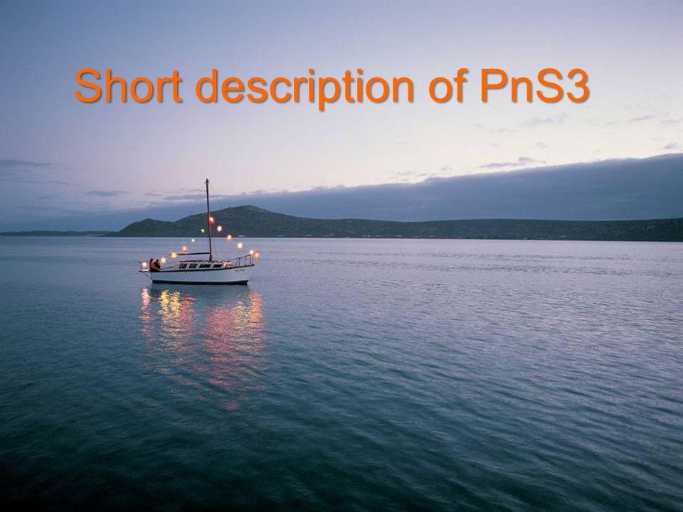 Short description of PnS3