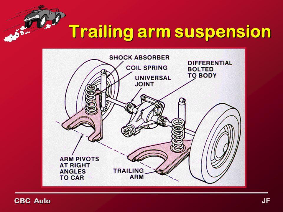 CBC Auto JF Trailing arm suspension