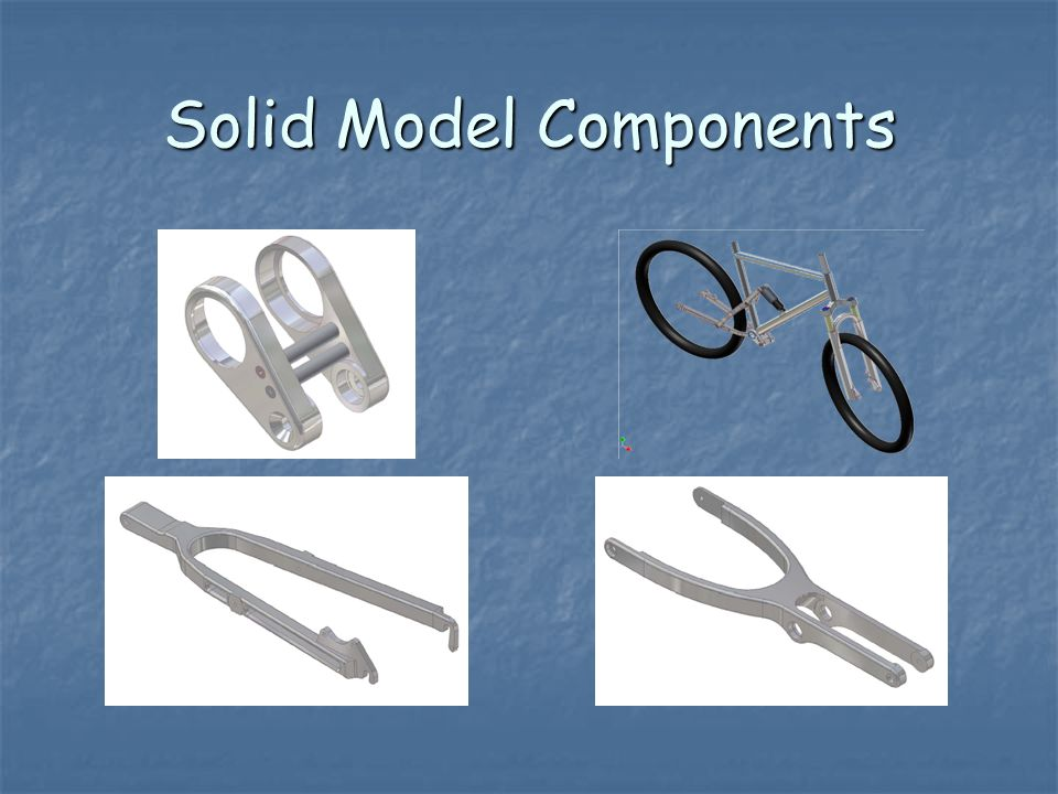 Solid Model Components