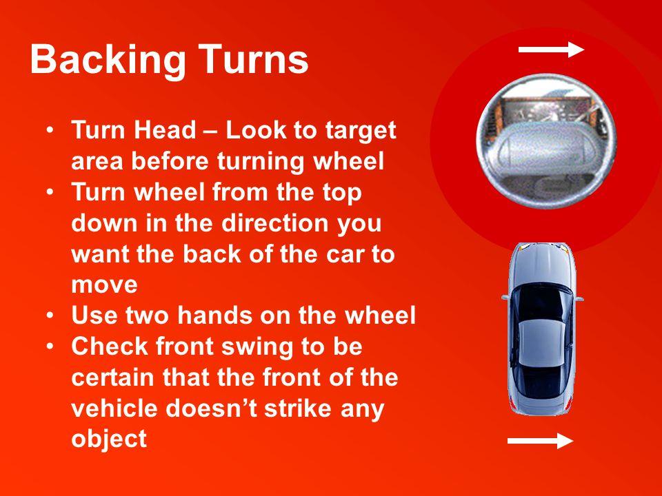 3 Point Turn Modified U-Turn for narrow roadways.U-turn rules apply.